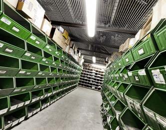 Ampio magazzino di componenti idraulici