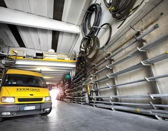 1.300 mq destinati a magazzino del materiale idraulico