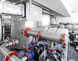 Impianto raffreddamento industriale