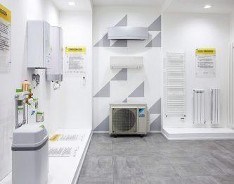 Showroom idraulica e risparmio energetico