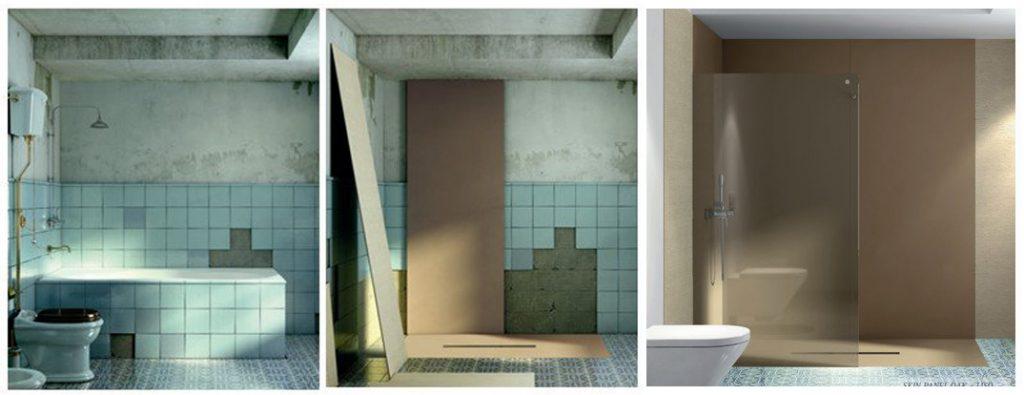Sostituzione vasca con doccia brescia e provincia - Sostituzione vasca da bagno con doccia ...
